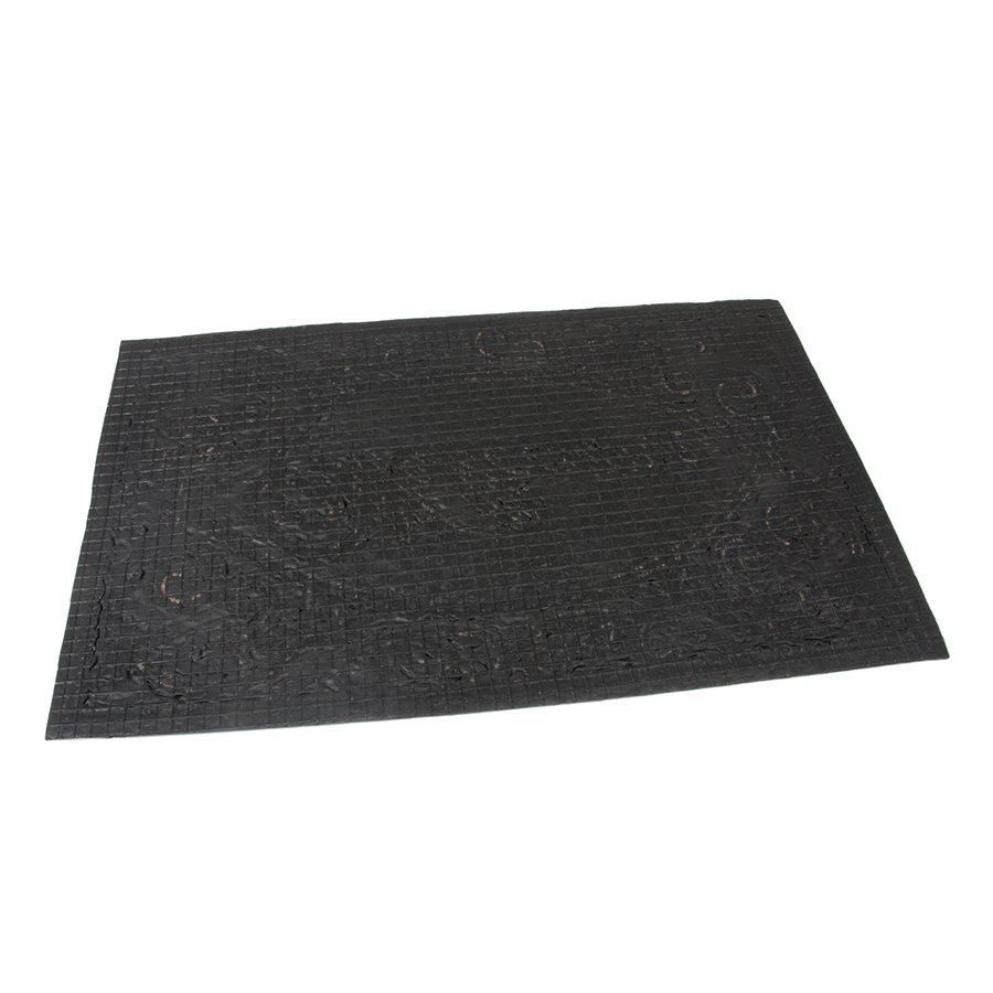 Kokosová čistící venkovní vstupní rohož Welcome - Deco, FLOMAT - délka 45 cm, šířka 75 cm a výška 1 cm
