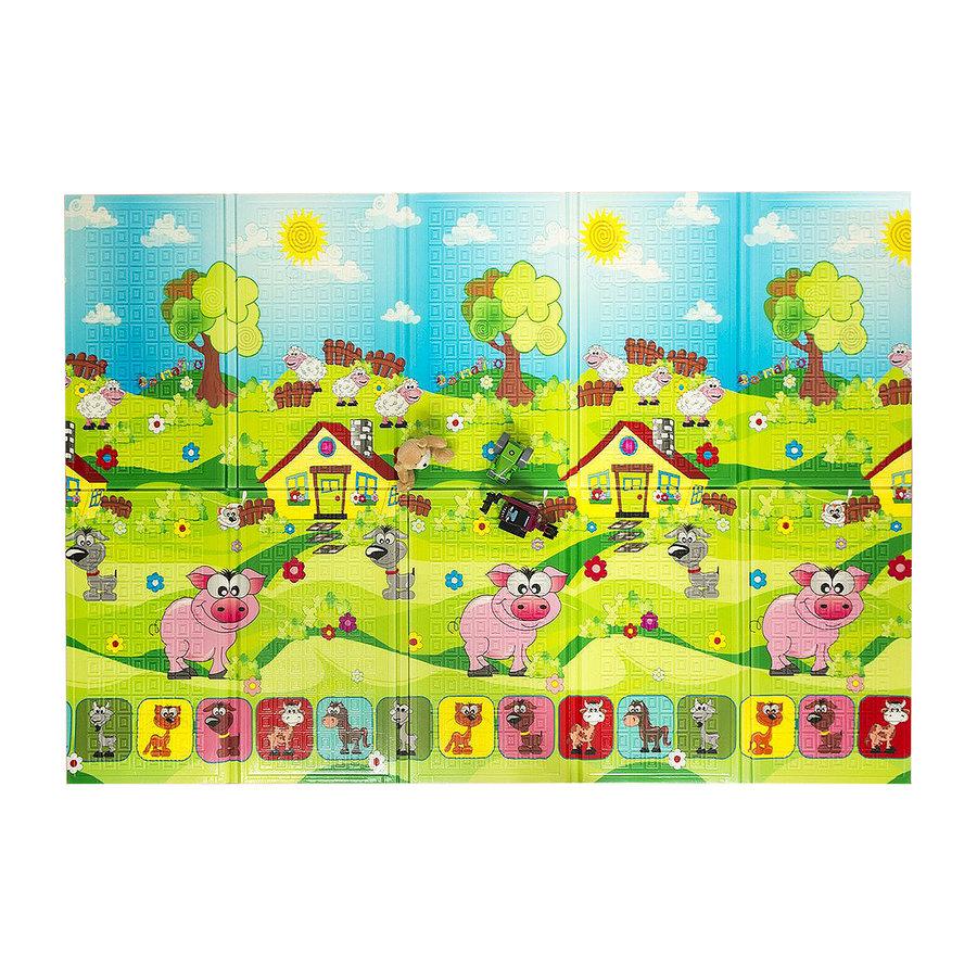 Dětská hrací pěnová skládací podložka Piggy, Casmatino - délka 200 cm, šířka 140 cm a výška 0,9 cm