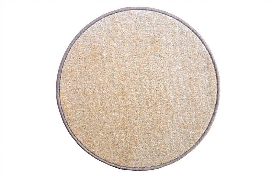 Béžový kusový koberec Eton