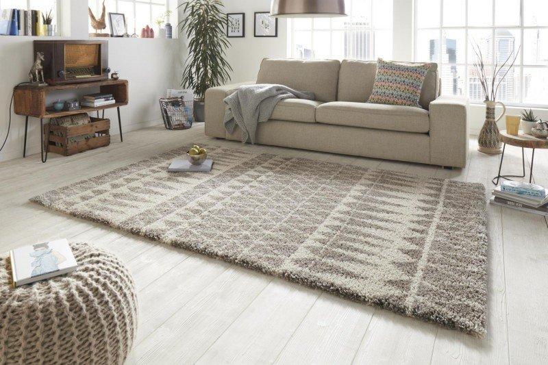 Šedý moderní kusový koberec Allure - délka 150 cm a šířka 80 cm