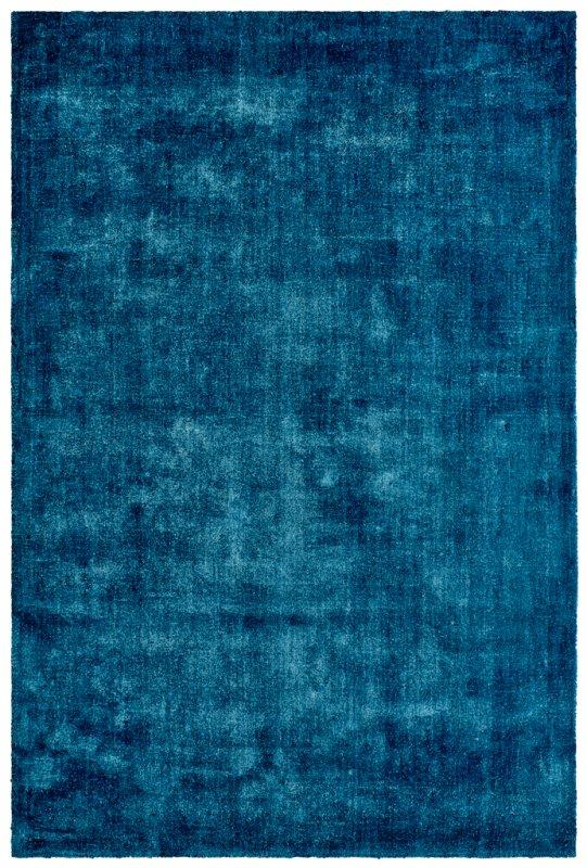 Modrý kusový koberec Breeze of Obsession