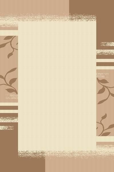 Béžovo-hnědý kusový moderní koberec Camea