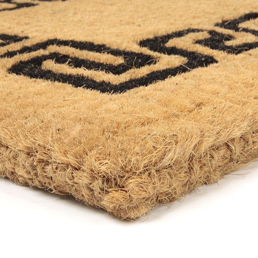 Kokosová vstupní venkovní čistící rohož Giza, FLOMAT - délka 55 cm, šířka 90 cm a výška 4,7 cm