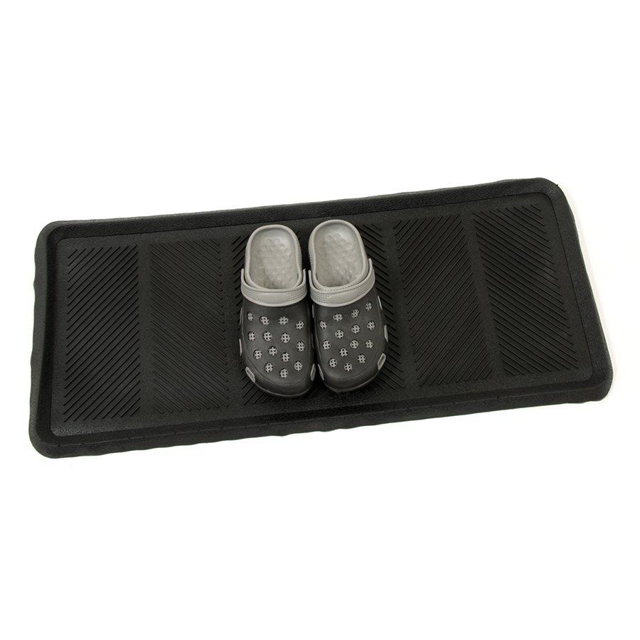 Gumový odkapávač na boty Lines - 40 x 90 x 2,5 cm (72778020)