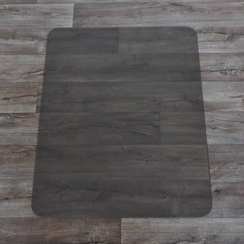 Bronzová podložka na hladké povrchy pod židli - délka 120 cm, šířka 90 cm a výška 0,15 cm