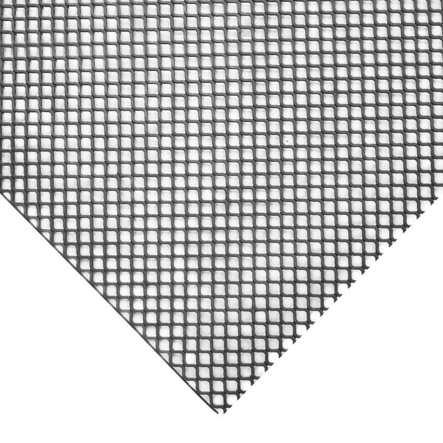 Šedá protiskluzová univerzální rohož - délka 480 cm, šířka 100 cm a výška 0,85 cm