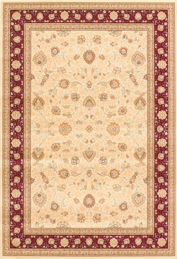 Červený nebo béžový orientální kusový koberec Nobility - délka 380 cm a šířka 280 cm