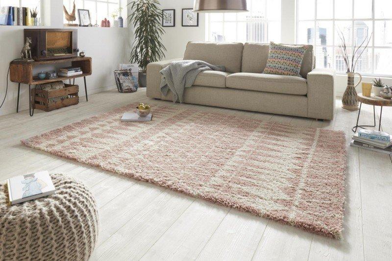 Růžový moderní kusový koberec Allure - délka 150 cm a šířka 80 cm