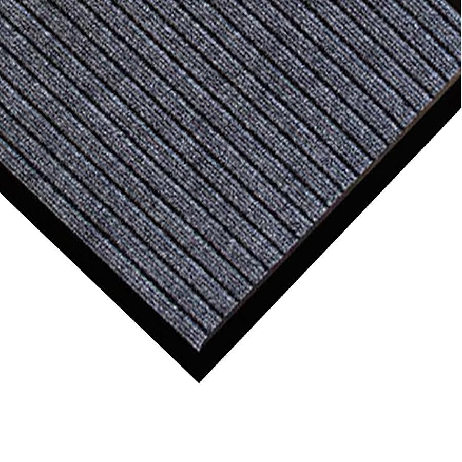 Šedá textilní vstupní rohož Popular - délka 40 cm a šířka 60 cm (85698586) FLOMAT